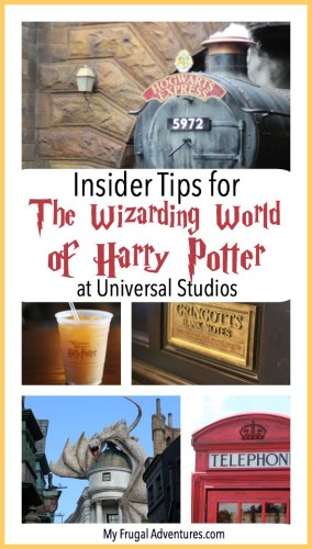 Insider Tips for the Wizarding World of Harry Potter at Universal Studios - great ideas to have a magical vacation