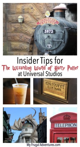 Insider Tips for the Wizarding World of Harry Potter at Universal Studios- tons of great tips to make your trip magical!