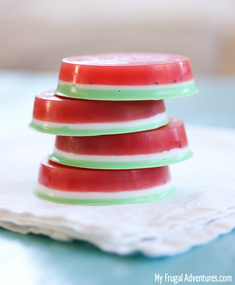 Watermelon Soap DIY