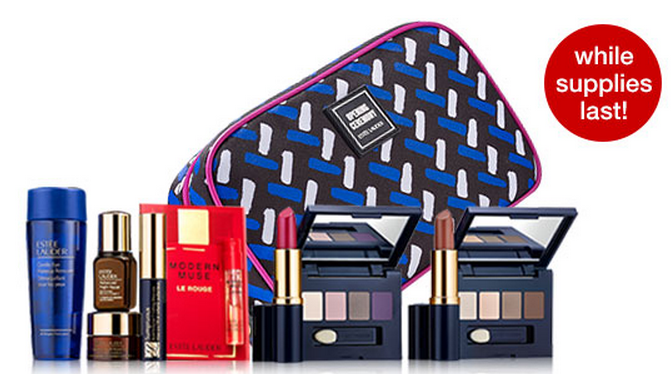 Estee Lauder: Free 8 Piece Gift with Purchase + Free Shipping - My Frugal Adventures