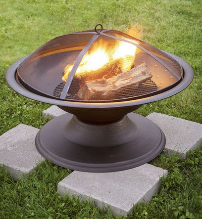 Delicieux You Can Save $20 Off The Garden Treasureu0027s Fire Pit At Loweu0027s Right Now.  This Makes The Price $39 And Score Free Shipping With In Store Pickup.