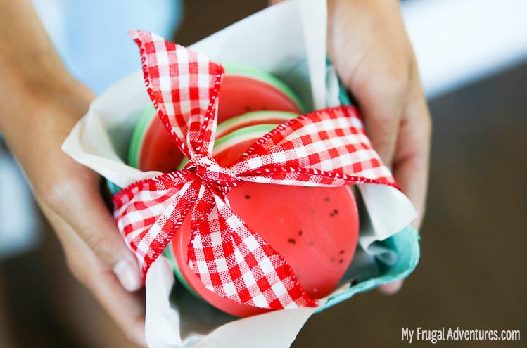 watermelon soap gift