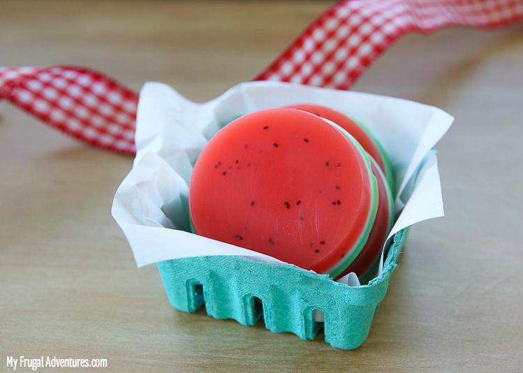 watermelon soap idea