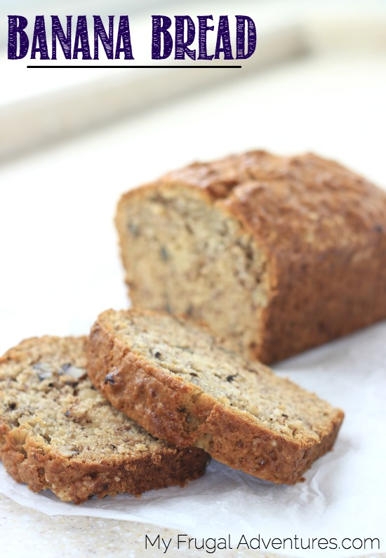 Copycat Starbucks Banana Bread by My Frugal Adventures