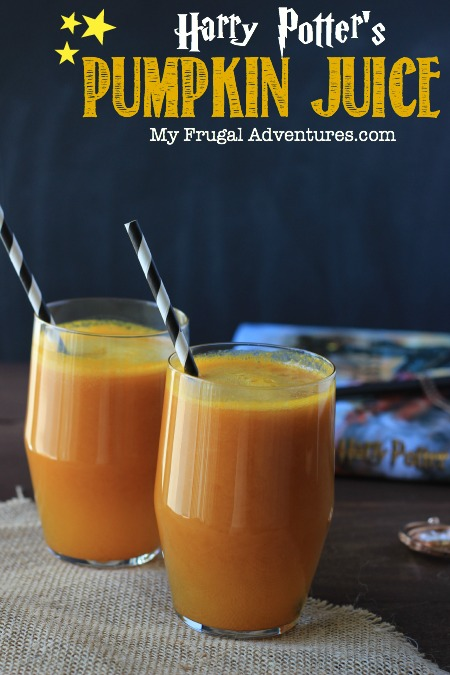Harry Potter's Pumpkin Juice Recipe