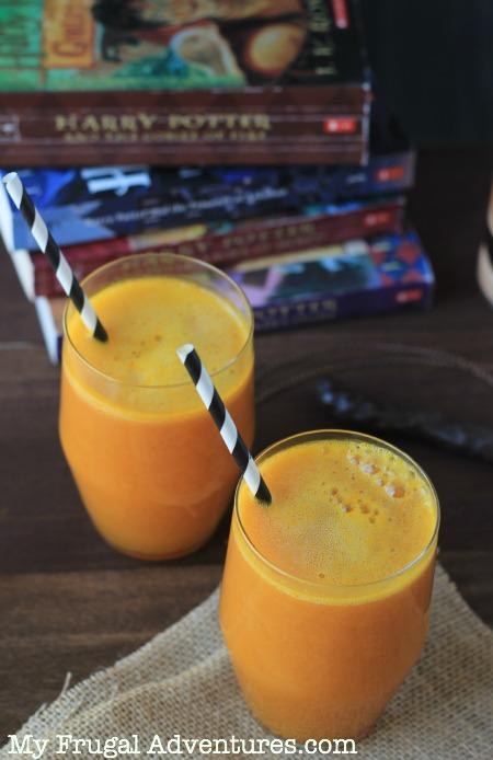 Harry Potter's Pumpkin Juice Recipe