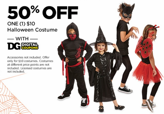 Dollar General: 50% off One Halloween Costume {10/21} - My Frugal ...