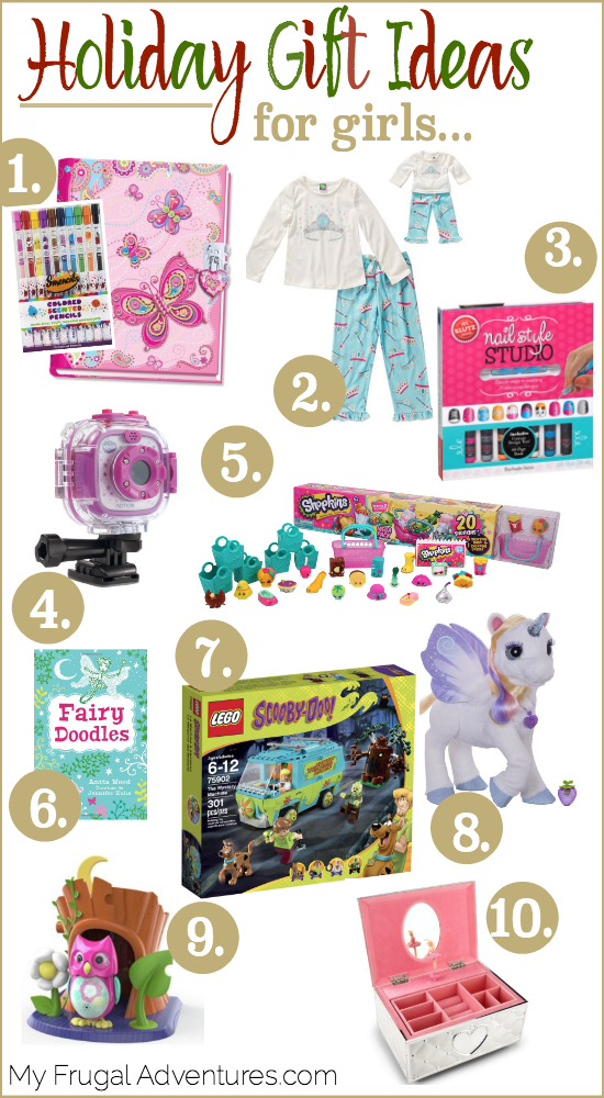Holiday Gift Guide for Little Girls {Age 5-10} - My Frugal Adventures