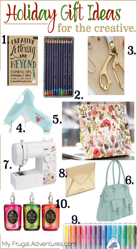 Holiday Gift Ideas for the Creative Person