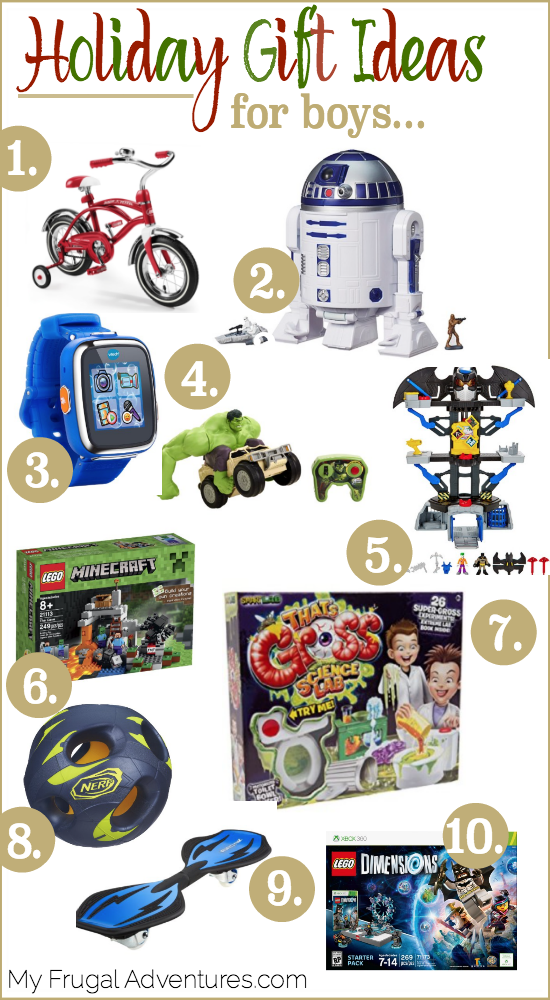 Xmas gifts for boys age 10