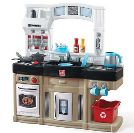 If A Play Kitchen Is On Your Ping List Here Very Nice Set For 35 After All S And Kohl Cash You Also Get 26 Pc Accessory
