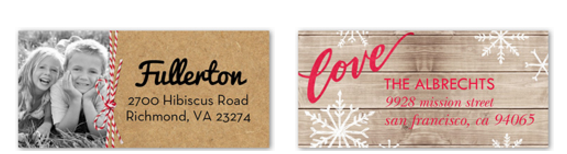 Shutterfly: Free Address Labels or Gift tags - My Frugal