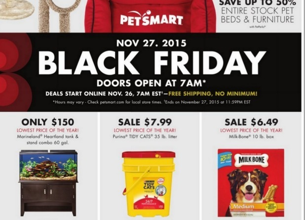Pet Smart Black Friday Ad 2015 My Frugal Adventures