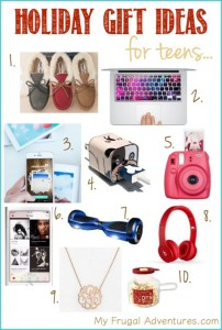 Holiday Gift ideas for Teens