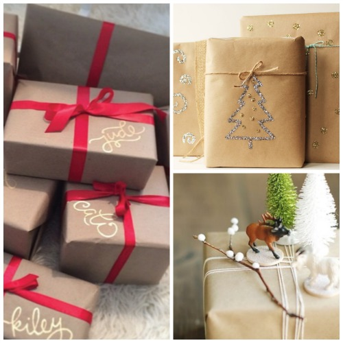 15 Inspiring Gift Wrap Ideas