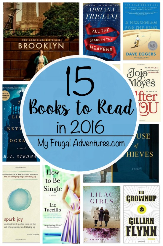 15 Books to Read in 2016