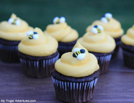 Bumblebee Cupcakes Recipe