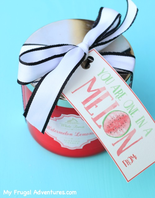 One in a Melon Printable Valentine