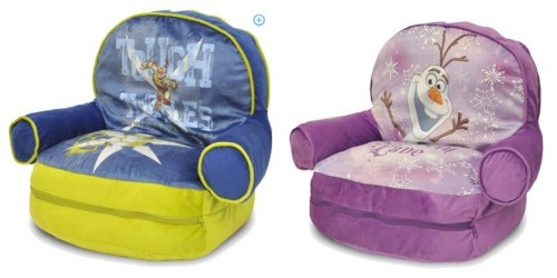 These Cute Chairs Are $19.99 Today And Include A Sleeping Bag! Choose From  Frozen Or Ninja Turtles At This Price.