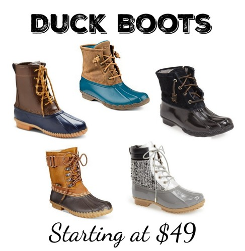 Duck Rain Boots For Women - Cr Boot