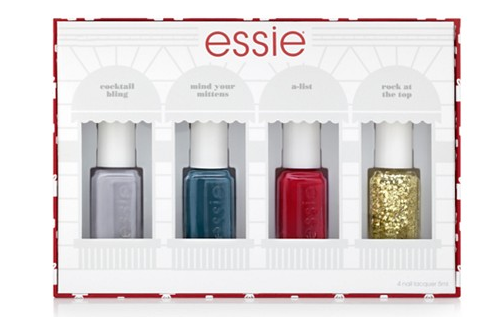 Essie Gift Kit - 4 Polishes $12 Shipped - My Frugal Adventures