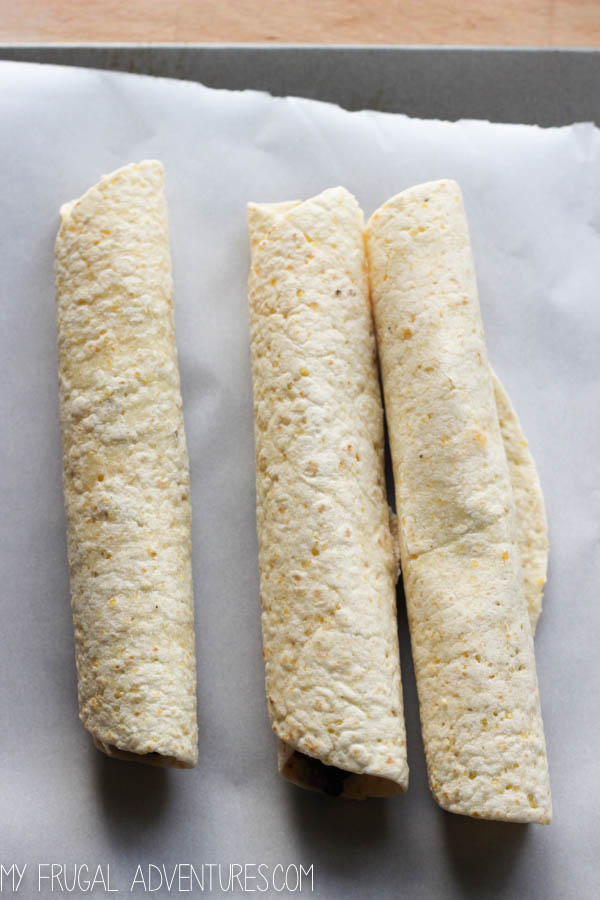Black Bean Taquito Recipe