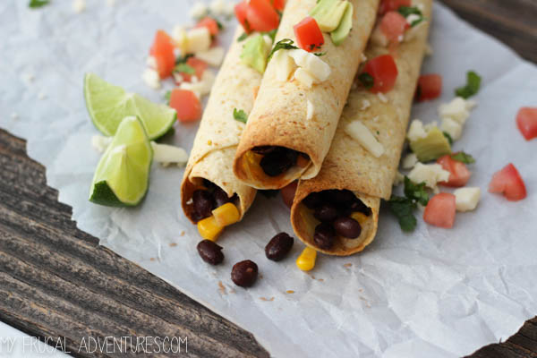 Black Bean Taquitos 4