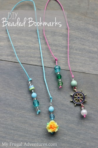 DIY Beaded Bookmark