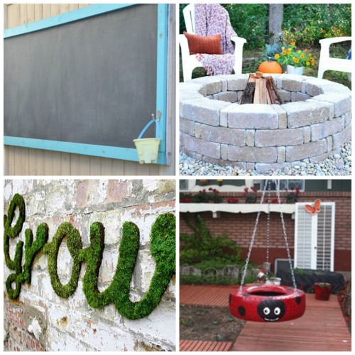 20 Outdoor Diy Projects For An Amazing Yard My Frugal