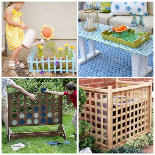 Outdoor DIY Projects For An Amazing Yard My Frugal Adventures - Outdoor diy projects