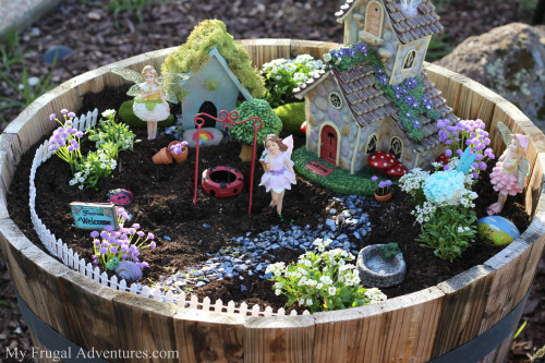 how to make fairy gardens