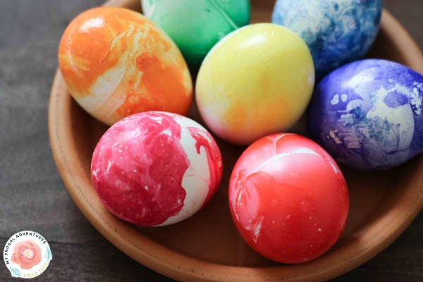 Rainbow Dyed Easter Eggs My Frugal Adventures