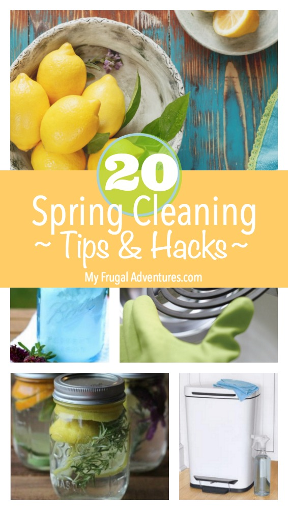 20 Spring Cleaning Tips And Hacks