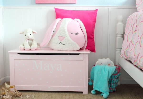 DIY Custom Toy Box {Pottery Barn Kids Inspired} - My ...