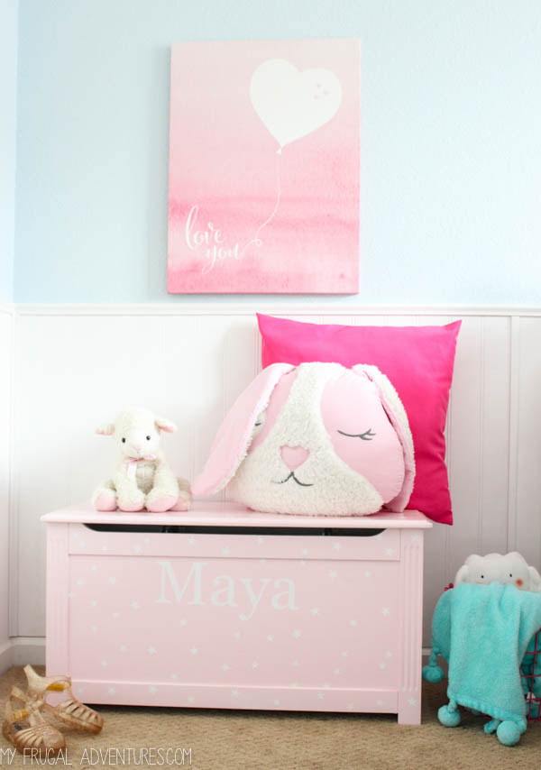 We Are Slowly Making It A Really Sweet And Calming Bedroom That Is Still  Bright And Cheerful And Fun For Her ...