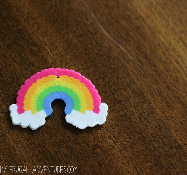 Rainbow Keychain 2