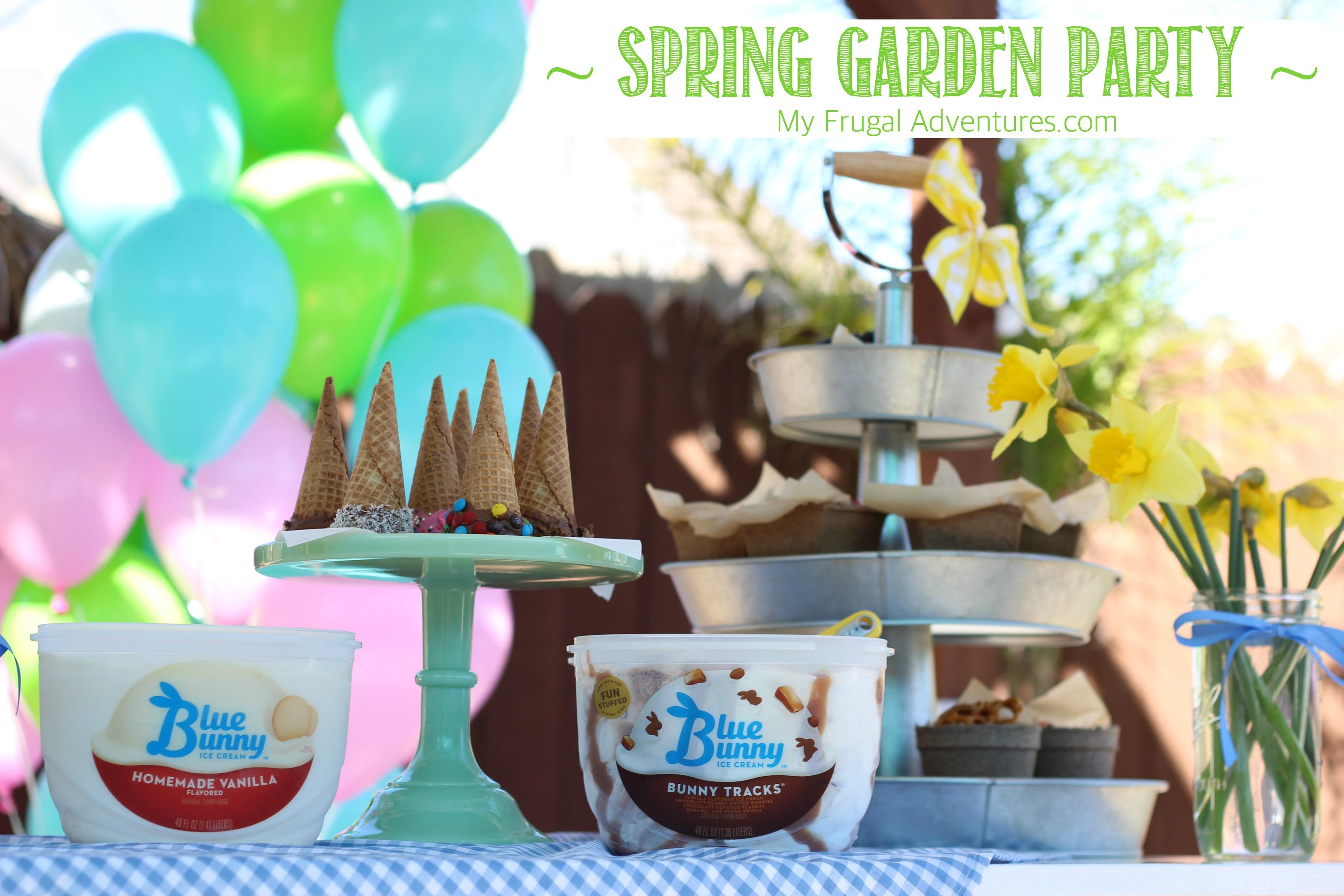 Simple Spring Garden Party Ideas