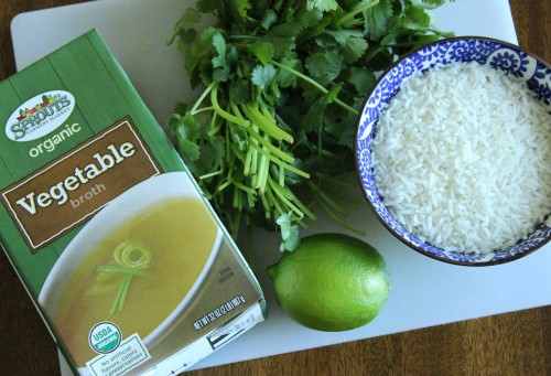 copycat cilantro lime rice recipe