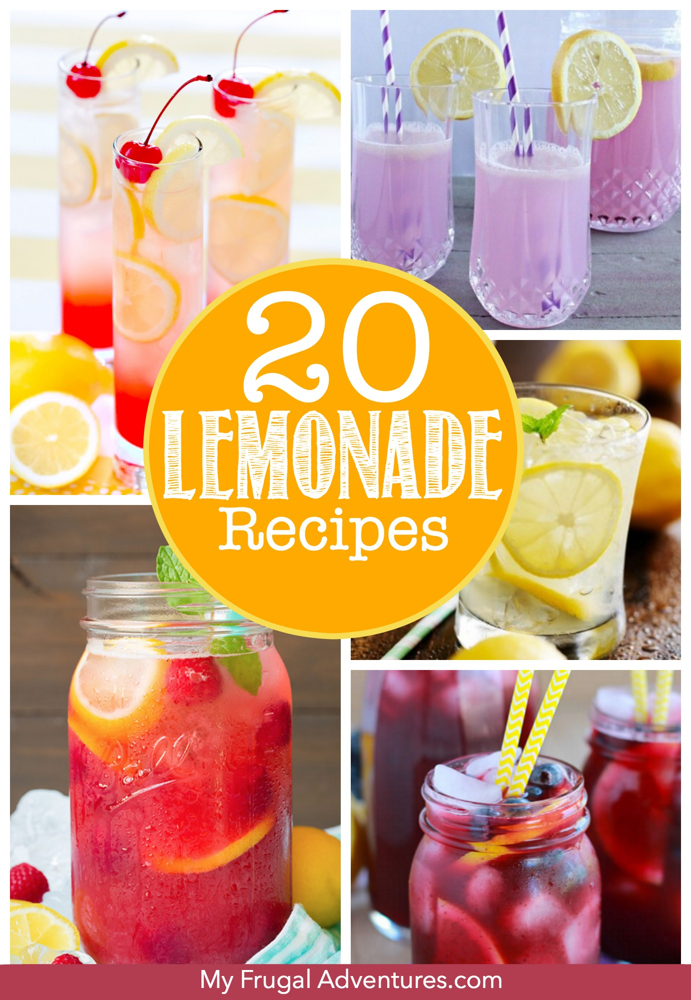 20 Lemonade Recipes for Summer