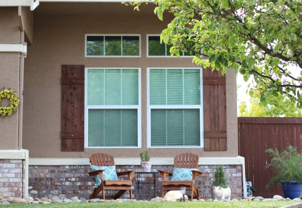 How To Build Outdoor Shutters My Frugal Adventures