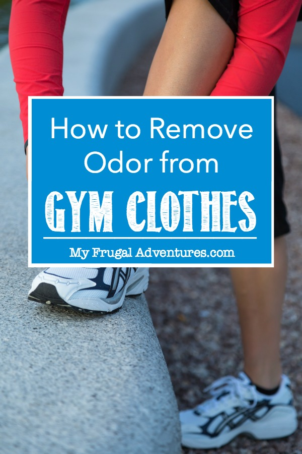 how to get the smell out of gym clothes my frugal adventures. Black Bedroom Furniture Sets. Home Design Ideas
