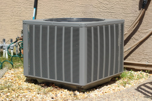 how to hide an outdoor ac unit my frugal adventures. Black Bedroom Furniture Sets. Home Design Ideas