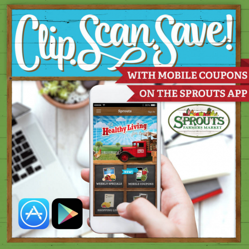 Sprouts Farmers Market: New Savings App - My Frugal Adventures