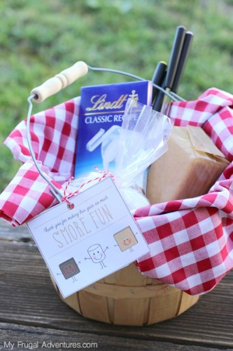 Smore Fun Gift Basket