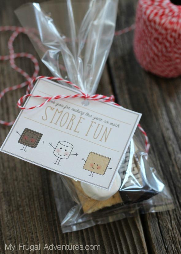 Teacher Appreciation Gift & Free Printable: S'Mores Basket ...