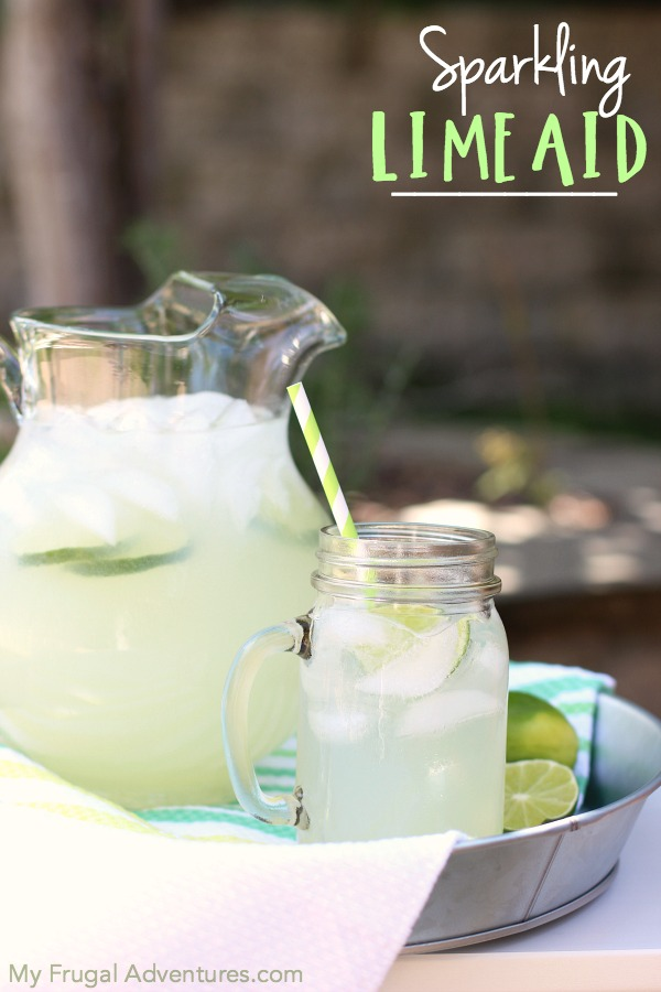 Sparkling Limeaid Recipe by My Frugal Adventures