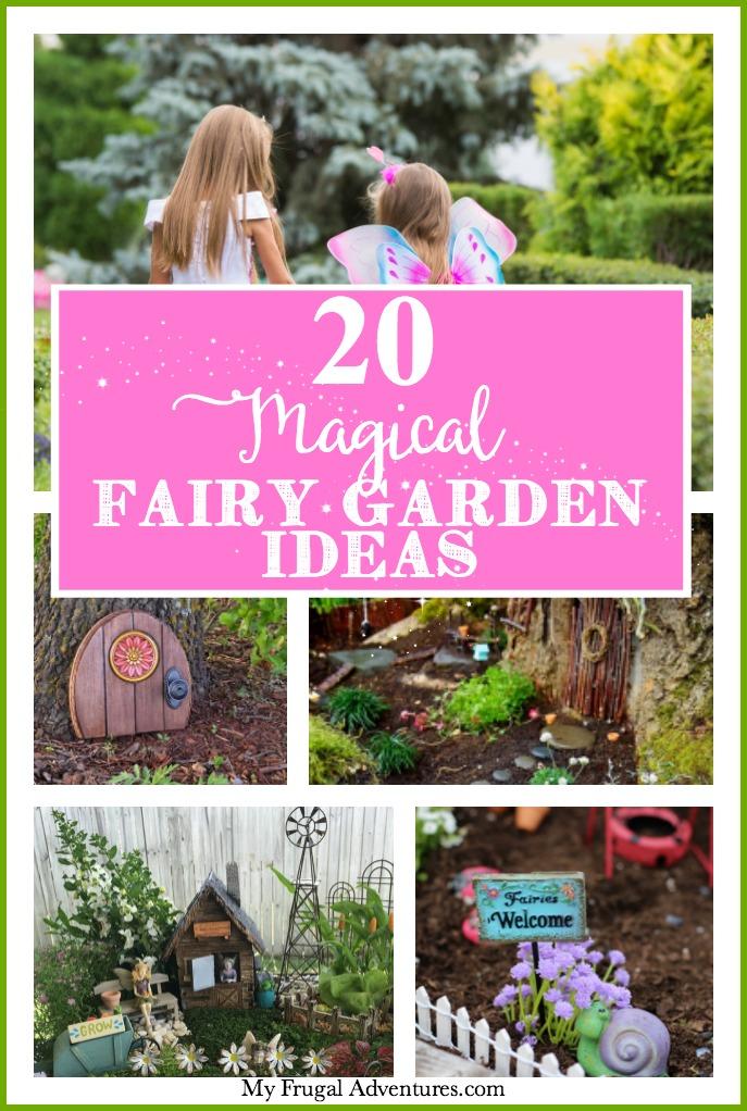 20 Magical Fairy Garden ideas