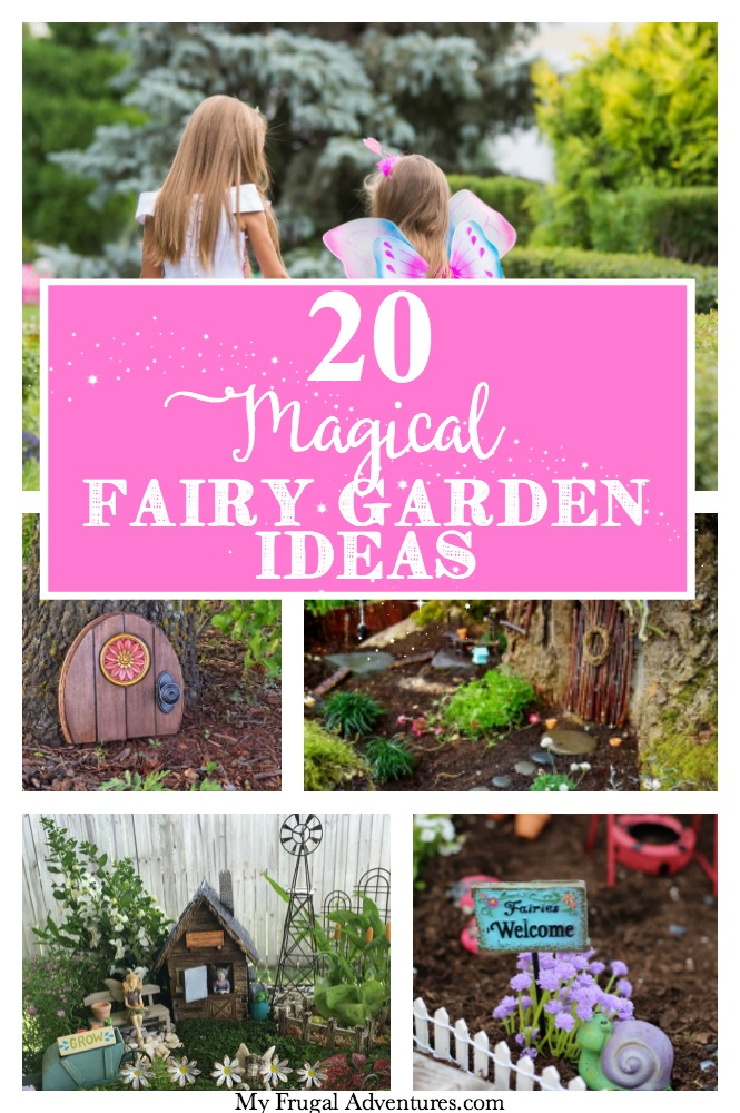 20 Magical Fairy Garden ideas