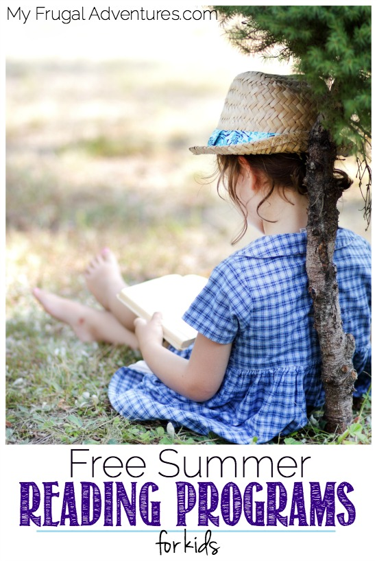 Free Summer Reading Programs for Kids 2016