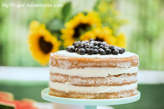 How to Make a Simple Naked Cake